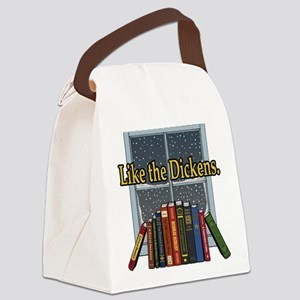 Like the Dickens Canvas Lunch Bag