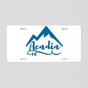 Acadia Maine Aluminum License Plate