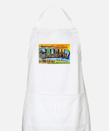 Gallup New Mexico Greetings BBQ Apron