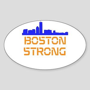 Boston Strong Skyline Sticker