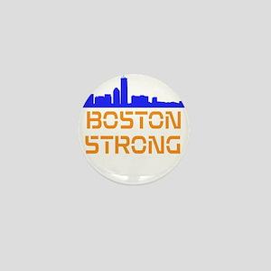 Boston Strong Skyline Mini Button