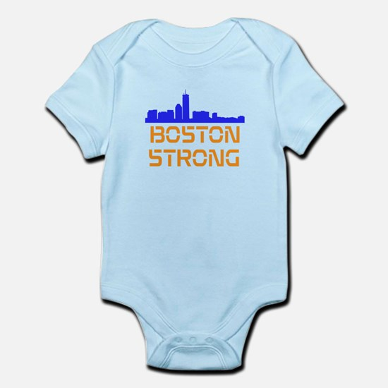 Boston Strong Skyline Body Suit