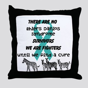 Ehlers-Danlos Syndrome Awareness Throw Pillow