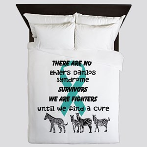 Ehlers-Danlos Syndrome Awareness Queen Duvet