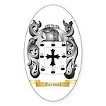 Carrocci Sticker (Oval 50 pk)