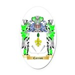 Carrion Oval Car Magnet