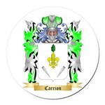 Carrion Round Car Magnet