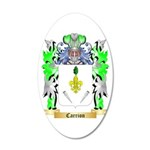 Carrion 20x12 Oval Wall Decal