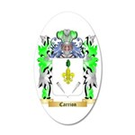Carrion 35x21 Oval Wall Decal