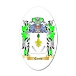 Carrio 20x12 Oval Wall Decal