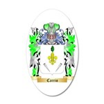 Carrio 35x21 Oval Wall Decal