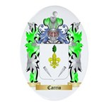Carrio Ornament (Oval)
