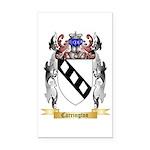 Carrington Rectangle Car Magnet
