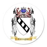 Carrington Round Car Magnet