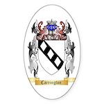 Carrington Sticker (Oval 10 pk)