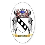 Carrington Sticker (Oval 50 pk)