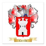Carrillo Square Car Magnet 3