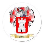 Carrillo Round Car Magnet