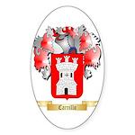 Carrillo Sticker (Oval 50 pk)