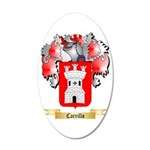 Carrillo 35x21 Oval Wall Decal