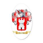 Carrilho Oval Car Magnet