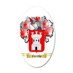 Carrilho 35x21 Oval Wall Decal