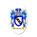 Carril 35x21 Oval Wall Decal