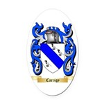 Carrigy Oval Car Magnet