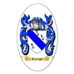 Carrigy Sticker (Oval 50 pk)