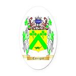 Carrigan Oval Car Magnet