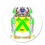 Carrigan Round Car Magnet