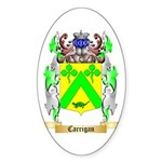 Carrigan Sticker (Oval)