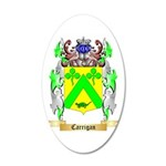 Carrigan 20x12 Oval Wall Decal