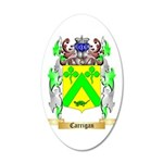 Carrigan 35x21 Oval Wall Decal