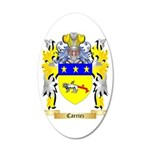 Carriez 35x21 Oval Wall Decal