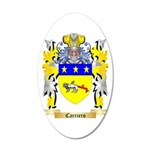 Carriero 20x12 Oval Wall Decal