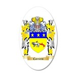 Carriero 35x21 Oval Wall Decal