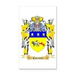 Carriere Rectangle Car Magnet