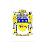 Carriere Sticker (Rectangle 10 pk)