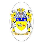 Carriere Sticker (Oval)