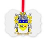 Carriere Picture Ornament