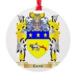 Carrie Round Ornament