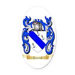 Carrick Oval Car Magnet