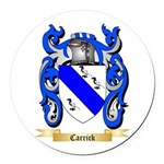 Carrick Round Car Magnet