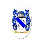 Carrick 35x21 Oval Wall Decal