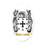 Carricchio Oval Car Magnet