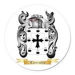 Carricchio Round Car Magnet