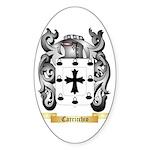 Carricchio Sticker (Oval 50 pk)