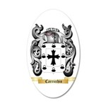 Carricchio 20x12 Oval Wall Decal