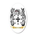 Carricchio 35x21 Oval Wall Decal
